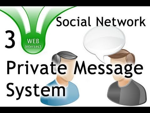 3/3 Private Message System Tutorial for PHP MySQL Websites Web Intersect