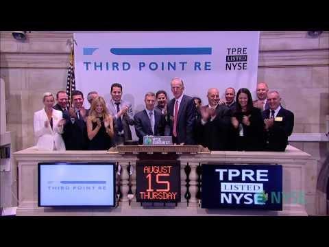 Third Point Reinsurance Ltd. Celebrates IPO on the New York Stock Exchange