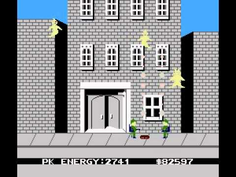 Ghostbusters (with sound generator) [NES Walkthrough]