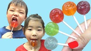 アンパンマン ペロペロキャンディー 泥棒に盗まれる!  Colors Song - Baby Nursery Rhymes Learn Colors for kids with Lollipop