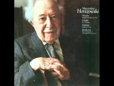 """Mieczyslaw Horszowski plays Franck """"Prélude, choral et fugue"""""""