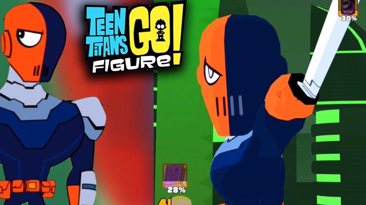 Teen Titans Go Figure - Slade Final Boss Fight  Ending -6565