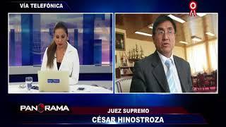 Baixar César Hinostroza evitó responder por la identidad de la 'Señora K'