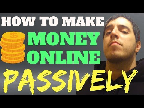 How To Make REAL Passive Income Online (Weird Method)