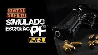 Aula Gratuita - AFO AO VIVO - Edital Aberto Simulado Escrivo PF 2017 - Aulas Avanadas - AlfaCon