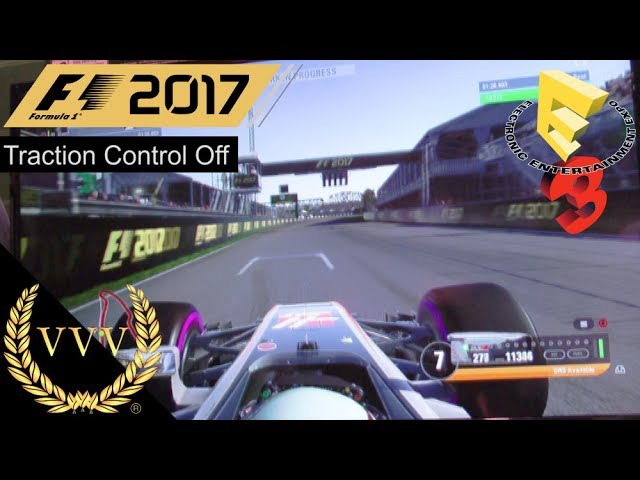F1 2017 PS4 Gameplay - Canada, Traction Control Off