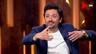 #سهرانين  | هتموت من الضحك على رد فعل كريم محمود عبدالعزيز لما اتفرج على نفسه في أول مسلسل مثله😂😂
