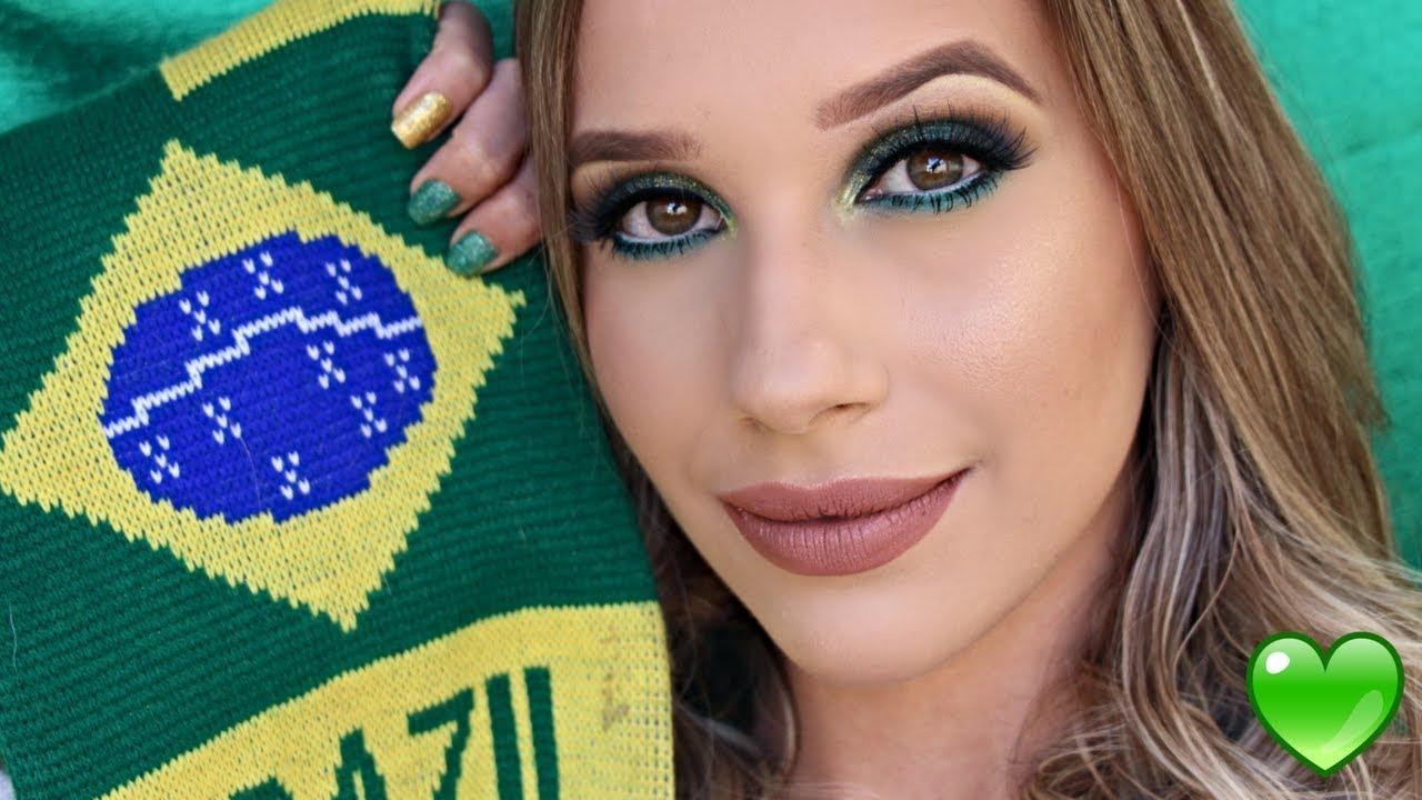 Resultado de imagem para maquiagem para copa 2018