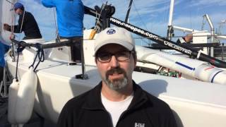 North Sails pro Tim Healy talks about the J/70 class in Key West.