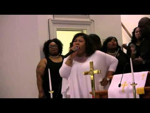 Chrystal Rucker sings for Union Bethel's 153rd Anniversary Celebration