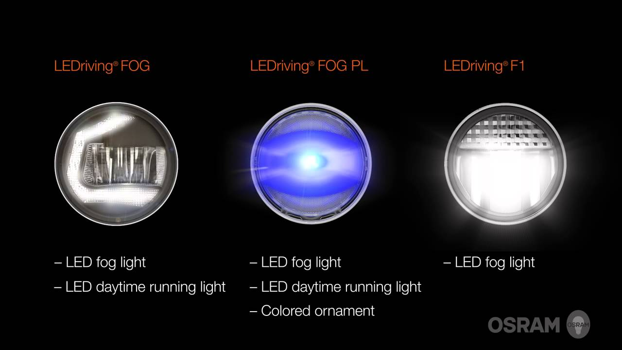 osram ledriving fog lights color up light up style up. Black Bedroom Furniture Sets. Home Design Ideas