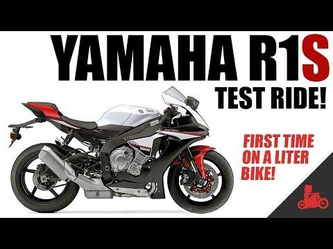 Yamaha R1 Test Ride!