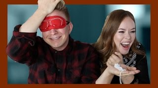 "Disgusting ""What Is It?!"" Challenge (ft. Tanya Burr) 