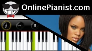 Rihanna - Unfaithful - Piano Tutorial & Sheets