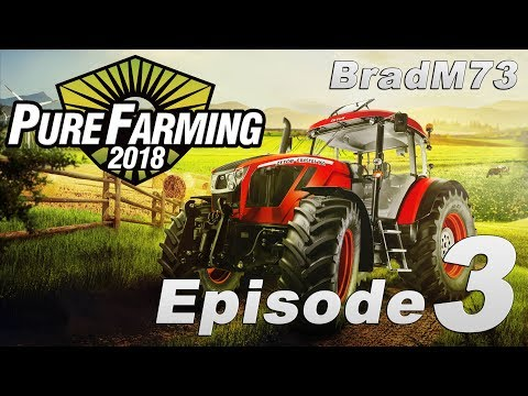 Pure Farming 2018 - My First Farm - Episode 3 - Sowing and Watering!!