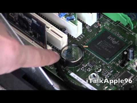 How to change the CMOS battery in your Desktop Computer