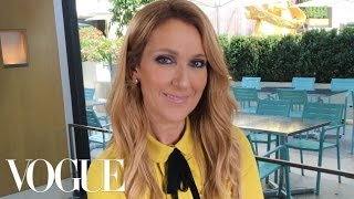 Céline Dion on Her Titanic Sweatshirt and 5 More Surprising Choices | Vogue