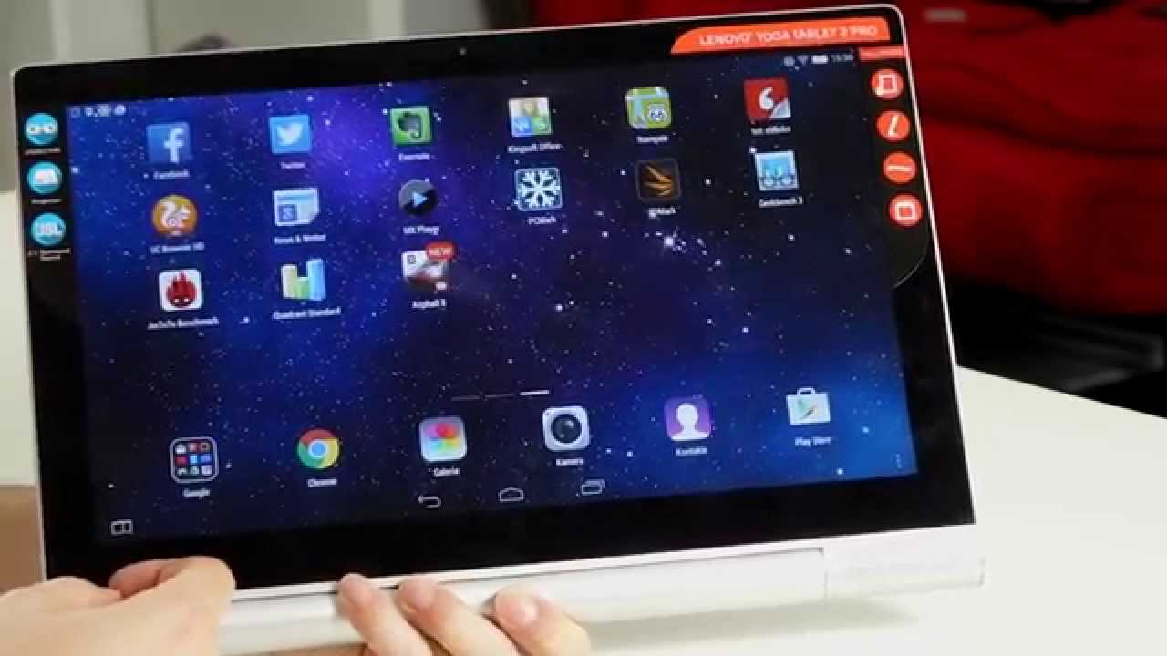 Der Tablet Lenovo Yoga Tablet 2 Pro Test - Das Tablet Mit Projektor