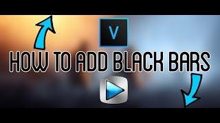 Sony Vegas | AMV Tutorial- Animating Black Bars.