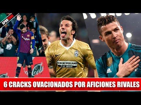 6 Futbolistas OVACIONADOS por el RIVAL