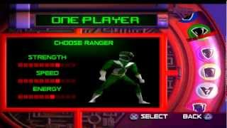 Power Rangers - Lightspeed Rescue PSX-Version Gameplay: Die ersten 10 Minuten - LEVEL 1