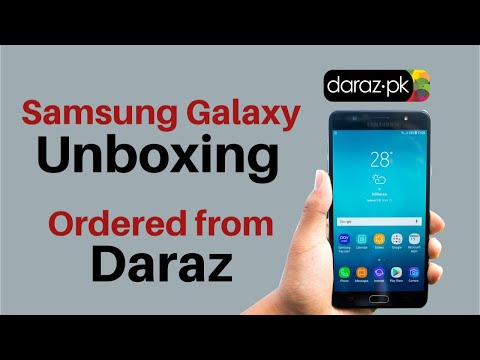 Samsung Galaxy Unboxing | Ordered from daraz.pk - Reports & Insights (R & I)