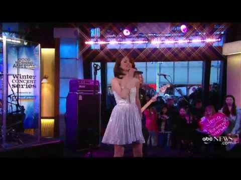 Selena Gomez - Naturally (Live @ Good Morning America)