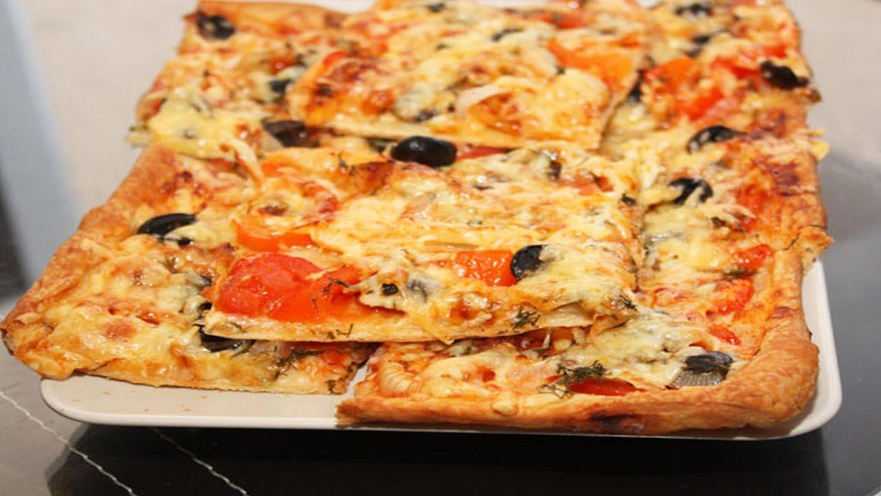 Тесто для пиццы без дрожжей как в пиццерии, на молоке, на