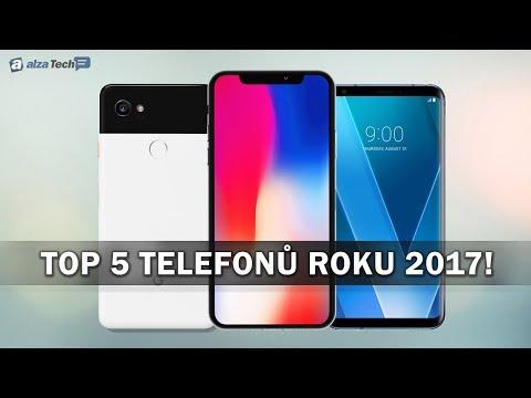 TOP5 nejlepších telefonů roku 2017! - AlzaTech #666
