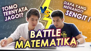 BATTLE MATEMATIKA: JEROME VS TOMO! | NIHONGO MANTAPPU