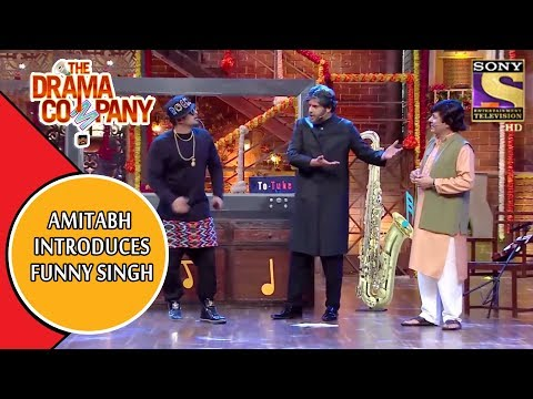 Amitabh Bachchan Introduces Yo Yo Funny Singh | The Drama Company