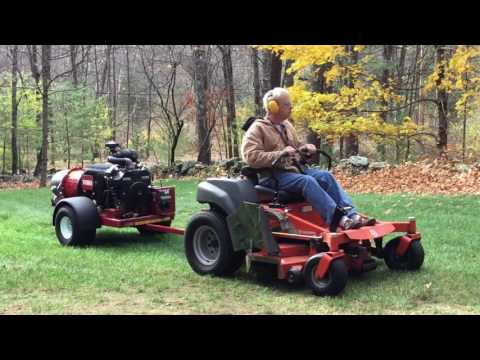 Leaf Removal - Toro Pro Force Debris Blower - The Ultimate S