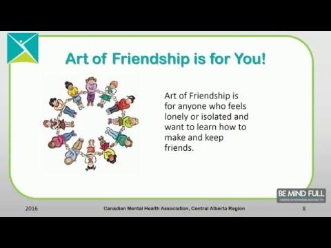 CMHA Central Alberta Art of Friendship
