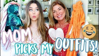 MY MOM PICKS MY SUMMER OUTFITS! Boohoo!