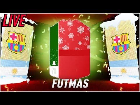 IL FUTMAS E' QUI! EVENTO DI NATALE SU FIFA 18! SCULATE A NON FINIRE!