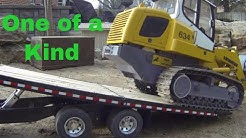 See it RC - Tag Tilt trailer heavy equipment transport.  Pulled by a Peterbuilt 8x8