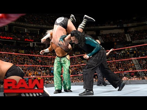 The Hardy Boyz vs. The Revival: Raw, July 17, 2017