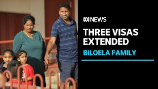 Nadesalingam family were elated at visa extension, but can't go back home to Biloela   ABC News