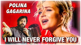 Download Polina Gagarina - I Will Never Forgive You ~ Полина Гагарина   REACTION by Zeus Mp3 and Videos