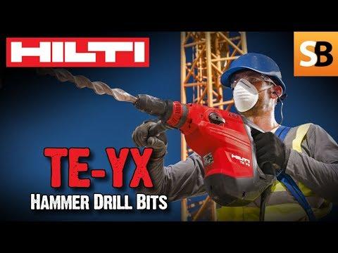 Hilti TE-YX Hammer Drill Bits