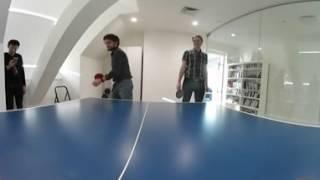 360 video ping pong game
