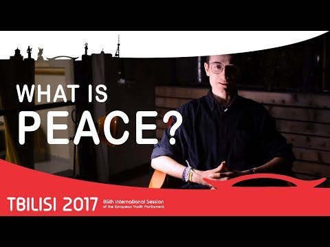 What is peace? | Tbilisi Media Team