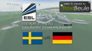 ESL CC 2013 Semi Final: SWE vs. GER - cast & played by frostBeule