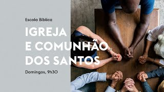 EBD - Jesus o cabeça da comunidade dos salvos. (Rev. Alan Rocha)