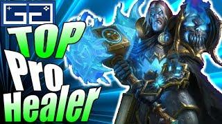 HOTS Top Pro Healer! Heroes of the Storm Uther Gameplay! 2018 Season 2 Hero League