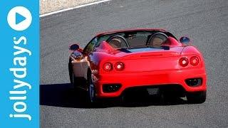 Jollydays - Ferrari fahren