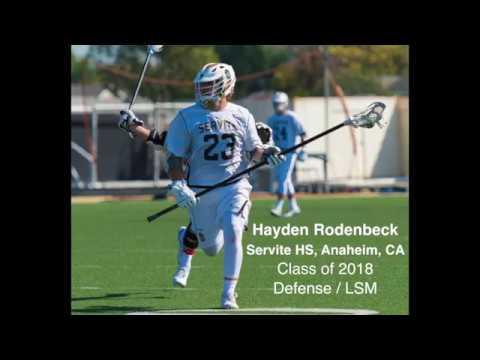 H Rodenbeck 2017 Junior Season Highlights