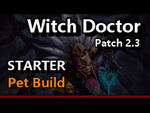 Diablo  Witch Doctor Helltooth Pet Build For Grift S