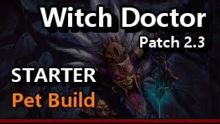 Witch Doctor Starter Pet Guide for Season 4 Diablo 3 Reaper of Souls