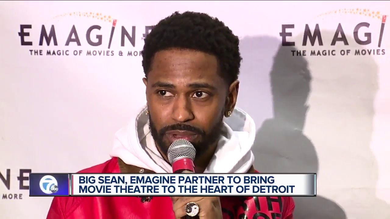 Big Sean teaming up with Emagine to open movie theater in Detroit